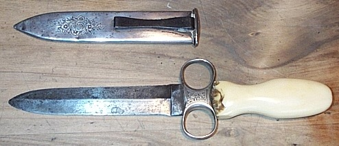 Michael Price Ring Guard Dagger